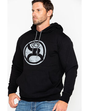 Hooey Men's Roughy 2.0 Athletic Hoodie , Black, hi-res