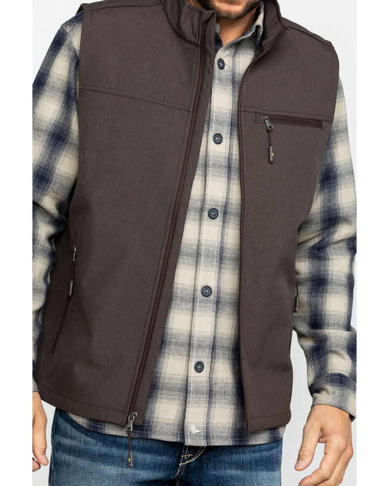 Cody James Core Men's Brown Rightwood Bonded Vest - Tall , Brown, hi-res