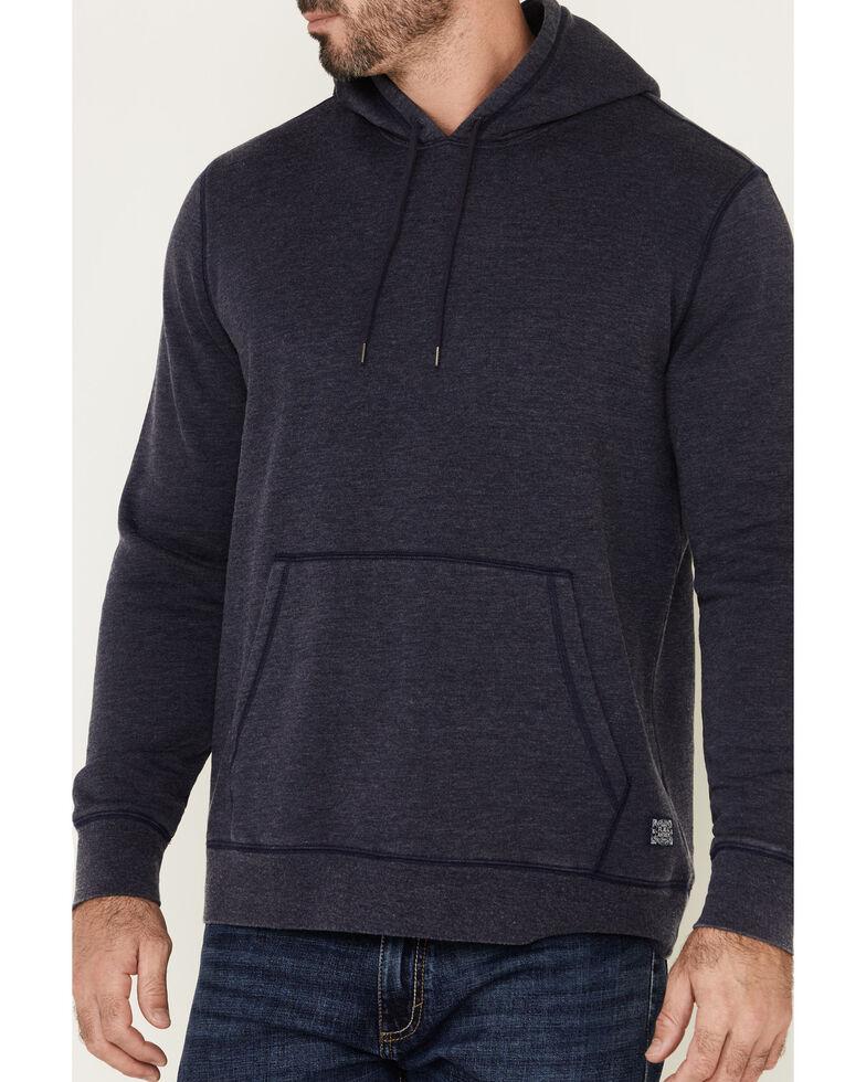 Flag & Anthem Men's Navy Colerain Burnout Fleece Hooded Sweatshirt , Navy, hi-res