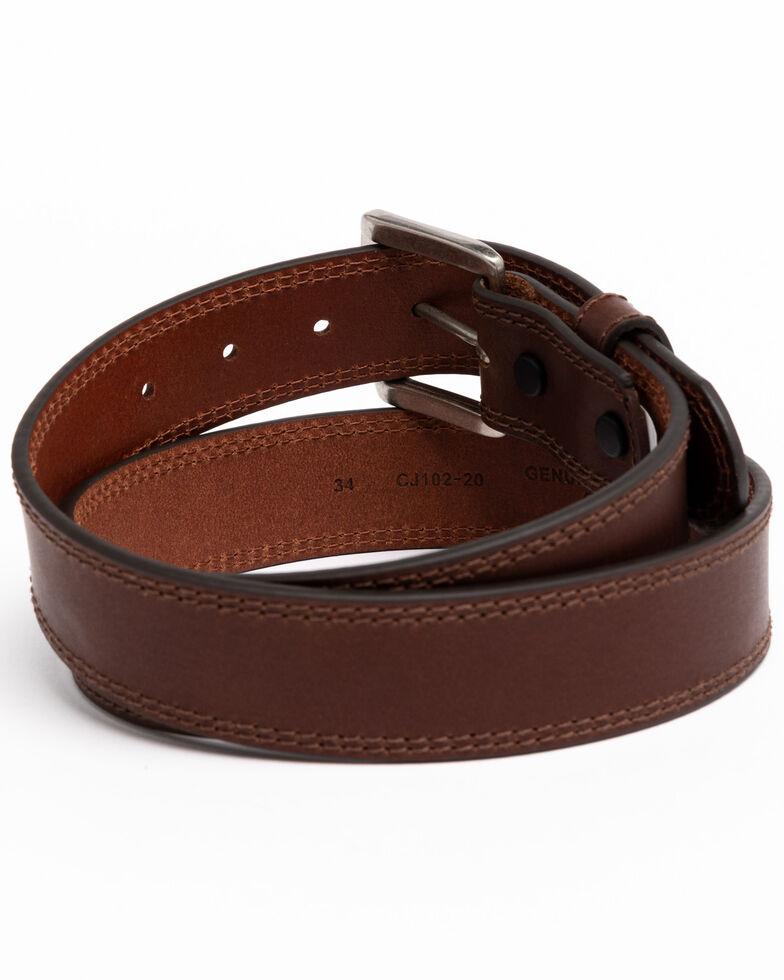 Hawx Men's Apache Triple Stitched Work Belt , Brown, hi-res