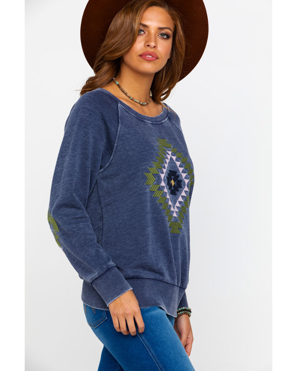 Ariat Women's Kimi Sweatshirt, Navy, hi-res