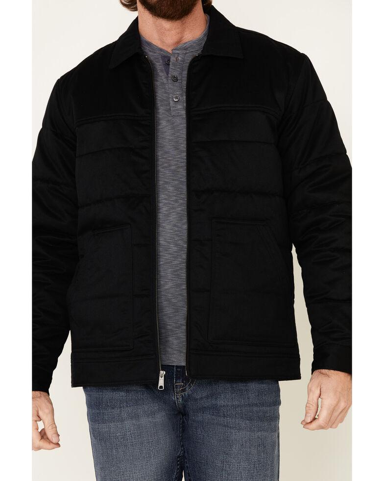 Cody James Men's Black Gaucho Snap Front Field Jacket , Black, hi-res