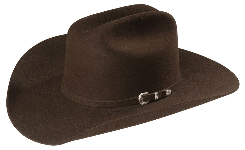 Justin 4X Cody Fur Felt Cowboy Hat, Brown, hi-res