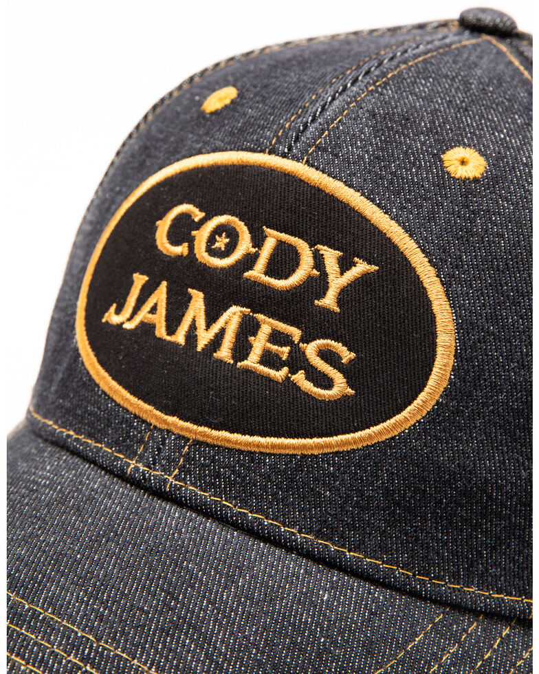 Cody James Men's Oval Logo Patch Trucker Cap , Grey, hi-res