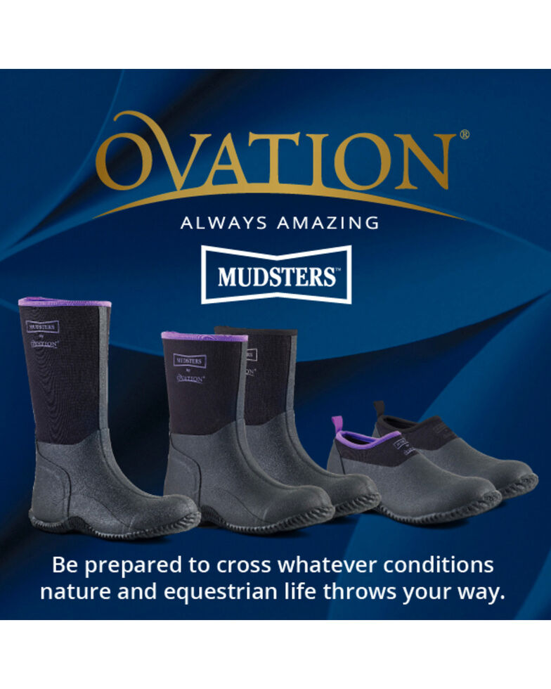 Ovation Women's Mudster Mid-Calf Barn Boots, Blk Multi, hi-res