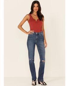 Idyllwind Women's Going Places Straight Leg Jeans, Dark Blue, hi-res