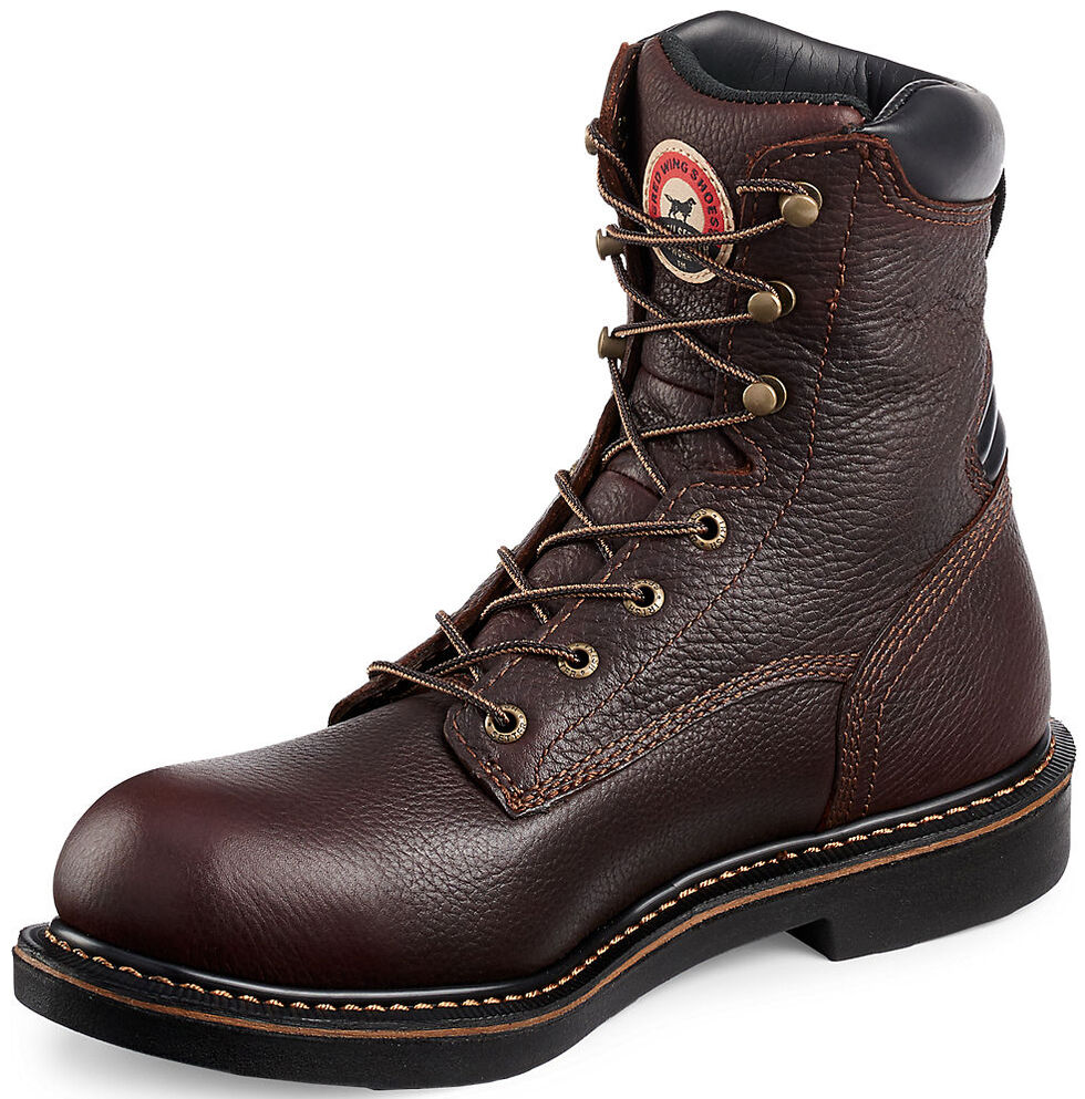 Irish Setter by Red Wing Shoes Men's Farmington EH Work Boots - Aluminum Toe , Brown, hi-res