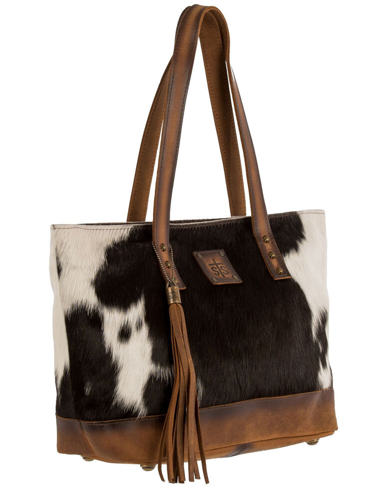 STS Ranchwear Women's Classic Cowhide Tote, No Color, hi-res