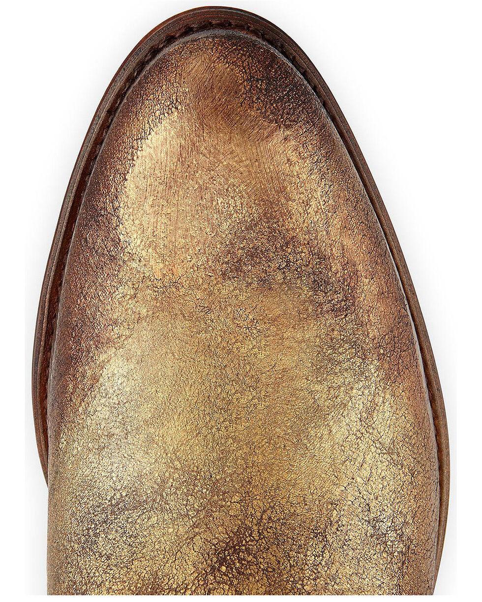 Frye Women's Deborah Studded Booties - Medium Toe, Gold, hi-res