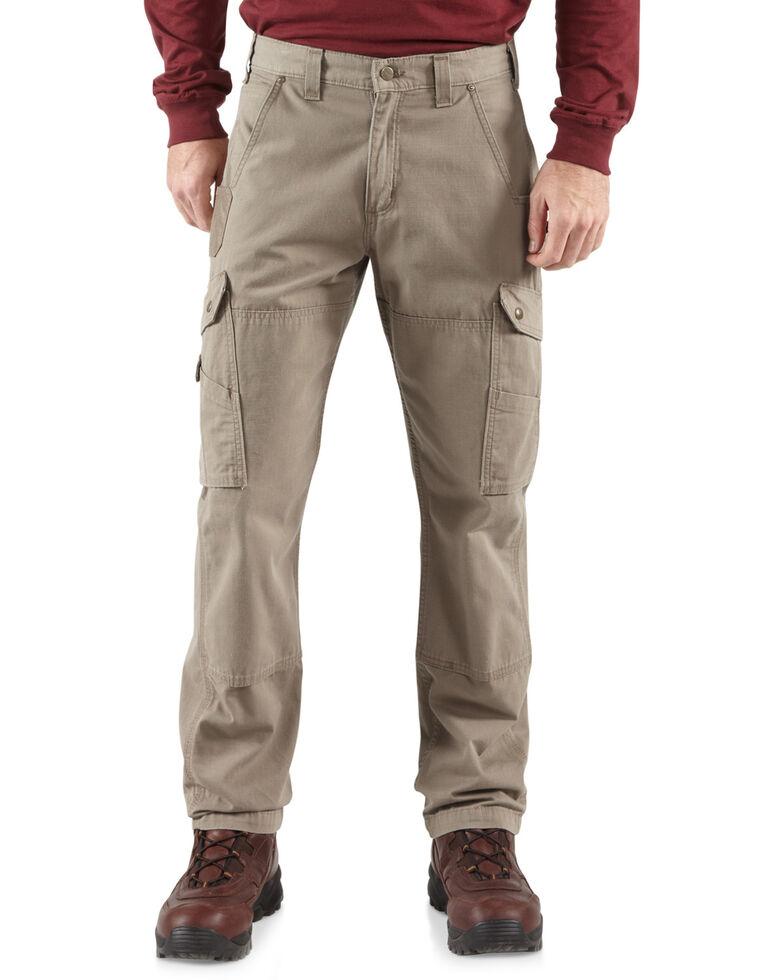 Carhartt Ripstop Cargo Work Pants, Desert, hi-res