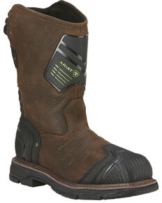 Ariat Men's Catalyst VX Work H20 Boots - Composite Toe, Brown, hi-res