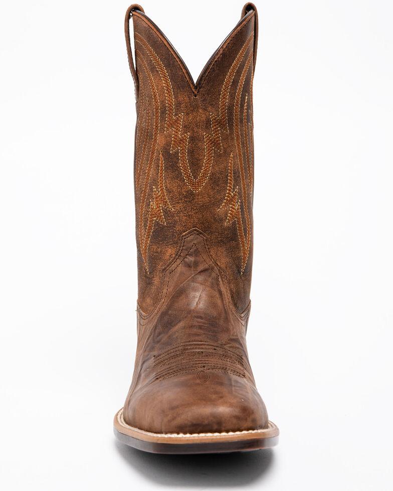 Ariat Men's Plano Bantamweight Performance Cowboy Boots - Square Toe, Brown, hi-res