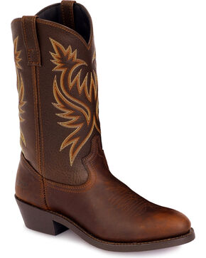 Laredo Men's Cowboy Work Boots, Copper, hi-res