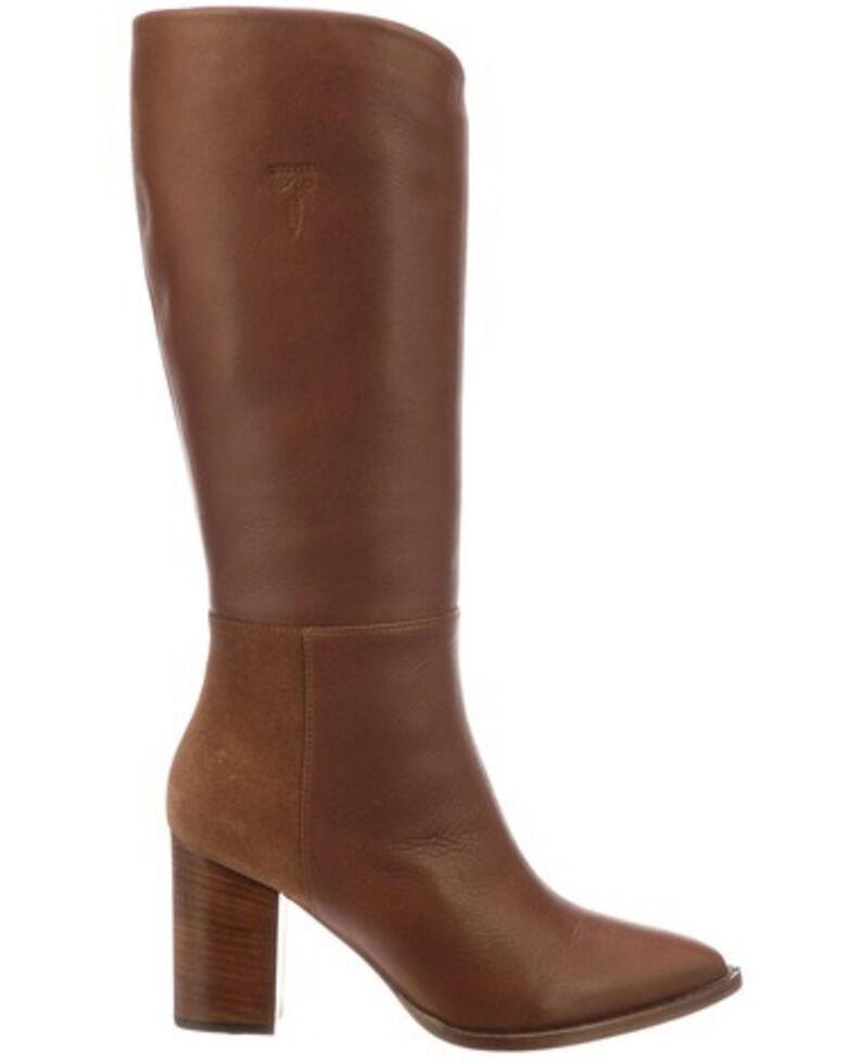 Lucchese Women's Dawn Western Boots - Medium Toe, Bark, hi-res