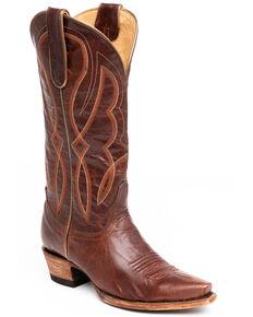 Idyllwind Women's Grit Western Performance Boots - Snip Toe, Cognac, hi-res