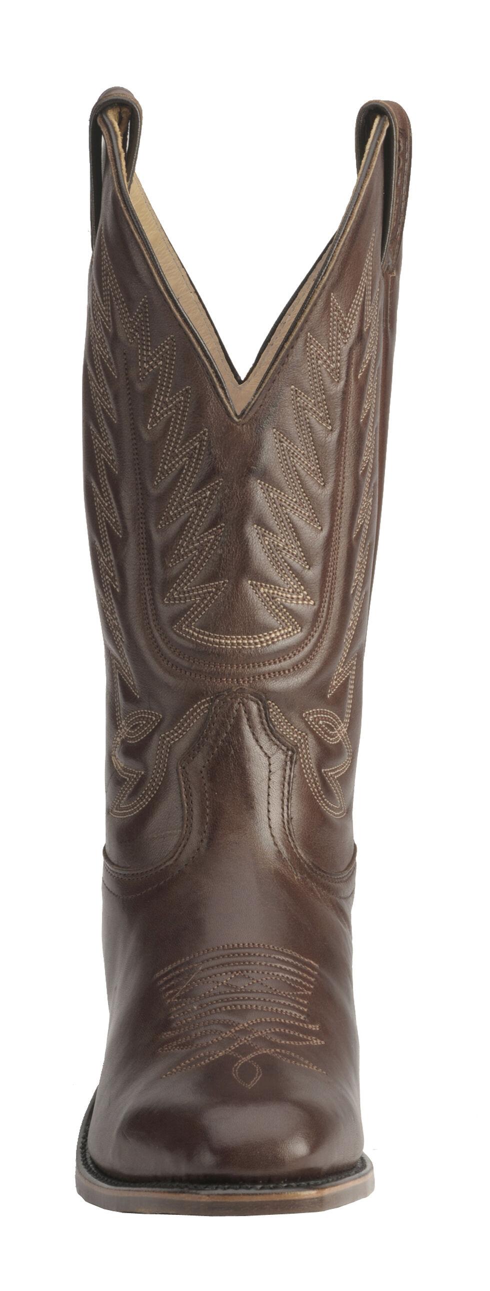 Boulet Men's Dress Cowboy Boots - Snip Toe, Tan, hi-res