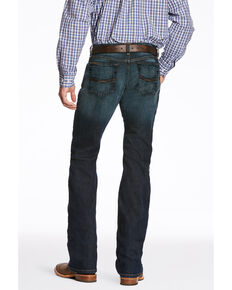 Ariat Men's M7 Fremont Legacy Stretch Straight Leg Jeans, Blue, hi-res