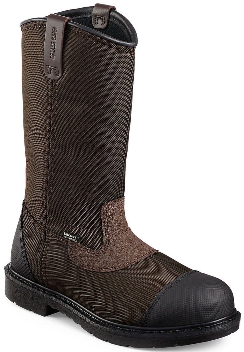 Irish Setter by Red Wing Shoes Men's Farmington EH Waterproof Work Boots - Steel Toe , Brown, hi-res