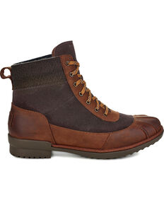 UGG Women's Cayli Waterproof Boots - Round Toe, Brown, hi-res