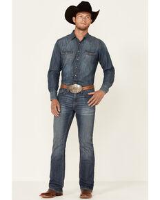 Cody James Men's Doc Medium Wash Stretch Slim Bootcut Jeans , Blue, hi-res
