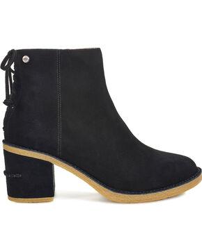 UGG Women's Black Corinne Boots - Round Toe, Black, hi-res