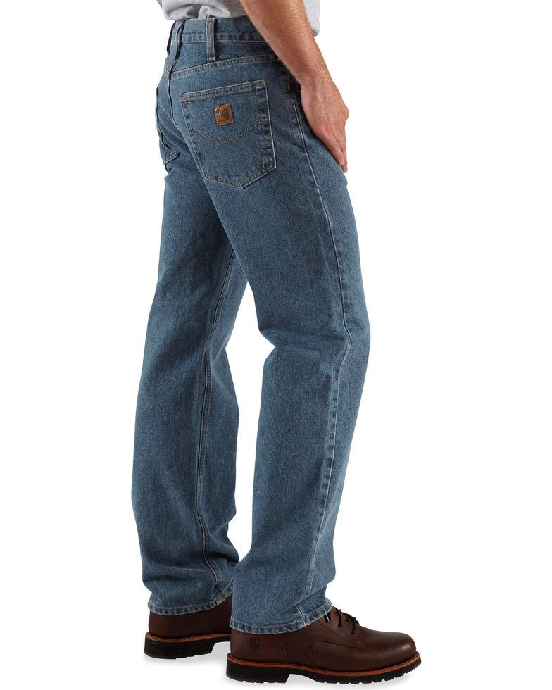 Carhartt Traditional Slim Fit Five Pocket Jeans, Dark Denim, hi-res