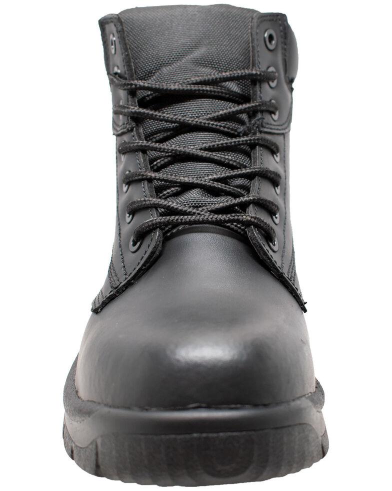 """Ad Tec Men's 6"""" Lace-Up Work Boots - Composite Toe, Black, hi-res"""