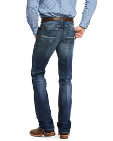 Ariat Men's Ford Chandler Stretch Boot Cut Jeans - Big , Blue, hi-res