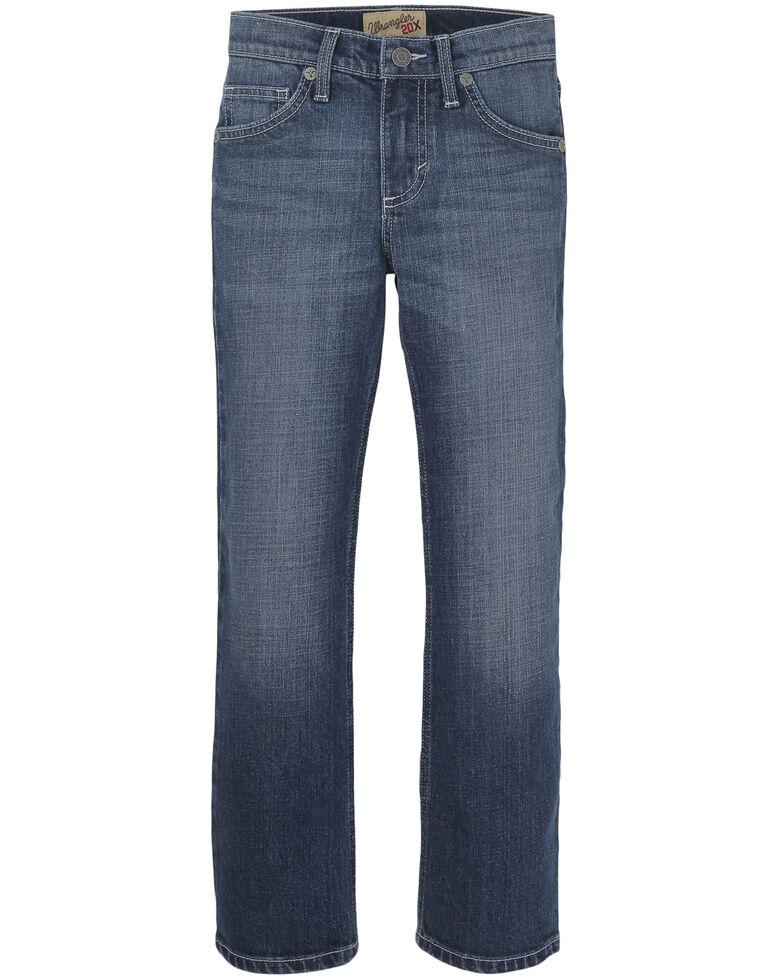 Wrangler 20X Boys' 4-7 No.44 Lipan Stretch Slim Straight Jeans , Blue, hi-res