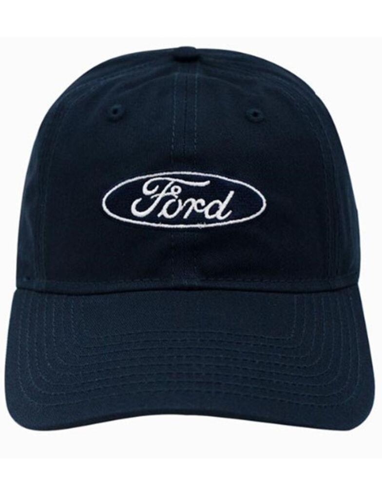 H Bar C Navy Ford Logo Dad Ball Cap , Navy, hi-res