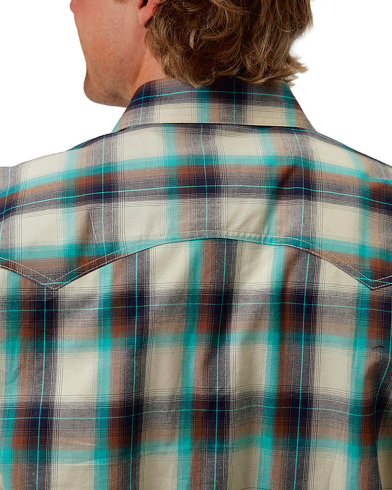 Roper Men's Plaid Long Sleeve Shirt, , hi-res