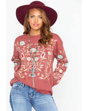 Aratta Women's Weekend Sweater, Mauve, hi-res