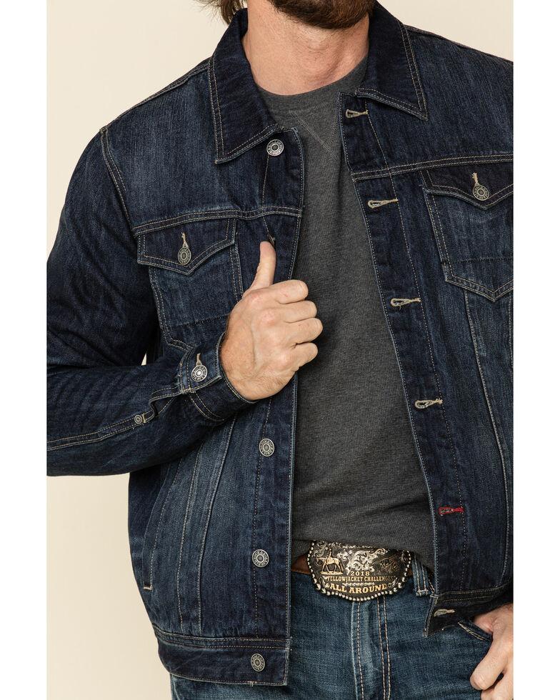 Rock & Roll Denim Men's Dark Reflex Denim Jacket, Navy, hi-res