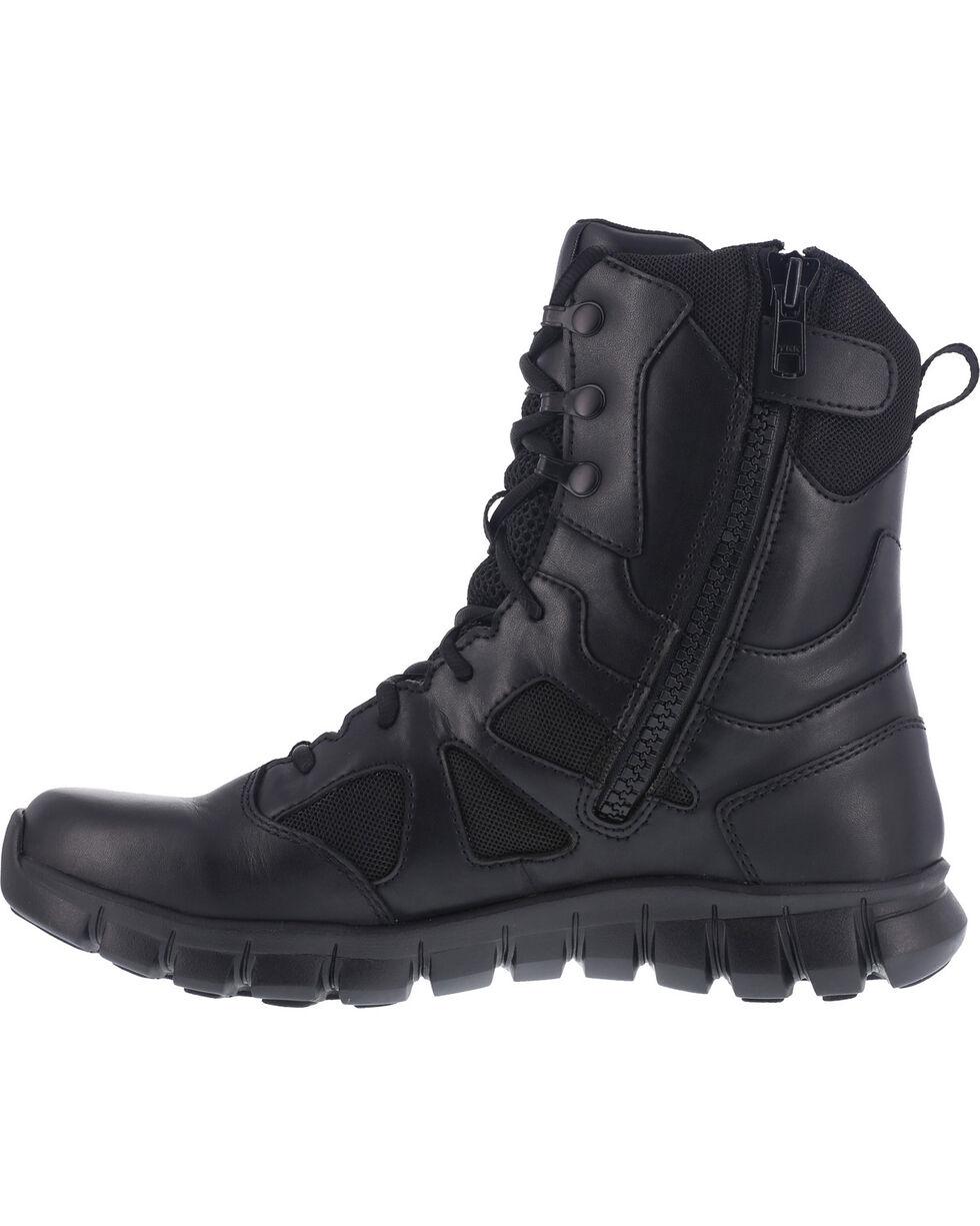 """Reebok Men's 8"""" Sublite Cushion Tactical Boots - Soft Toe , Black, hi-res"""