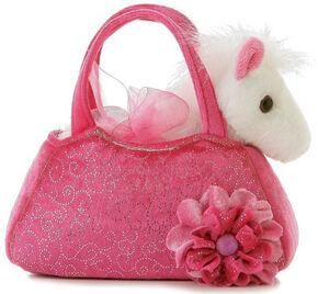 Aurora Plush Pony Pet Carrier, Pink, hi-res
