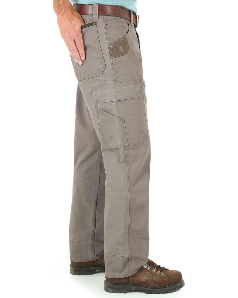 Wrangler Men's Cool Vantage Ripstop Cargo Pants, Bark, hi-res
