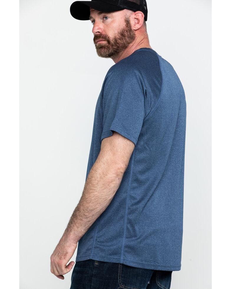 Hawx® Men's Solid Performance Work T-Shirt , Navy, hi-res