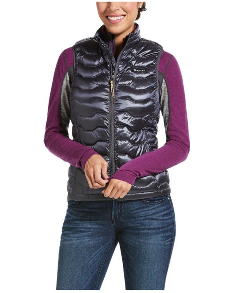 Ariat Women's Periscope Black Ideal 3.0 Down Vest, Black, hi-res