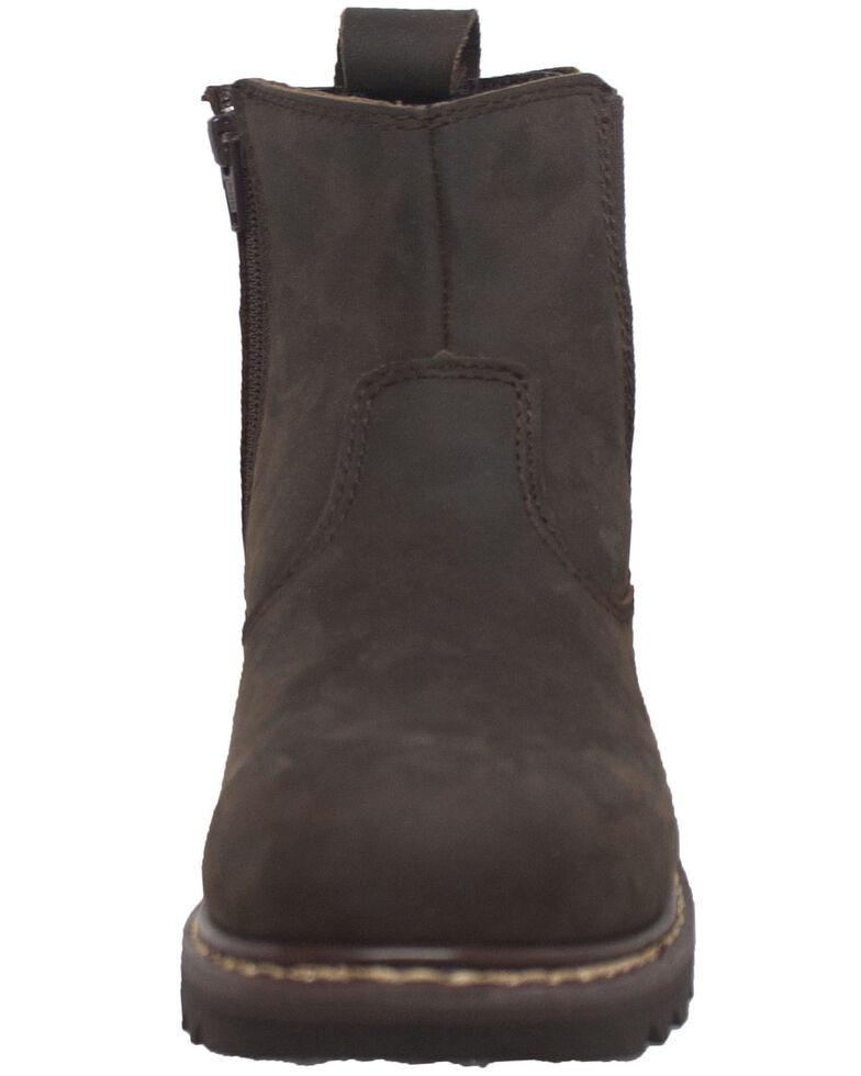 Ad Tec Men's Australian Ankle Work Boots - Soft Toe, Brown, hi-res