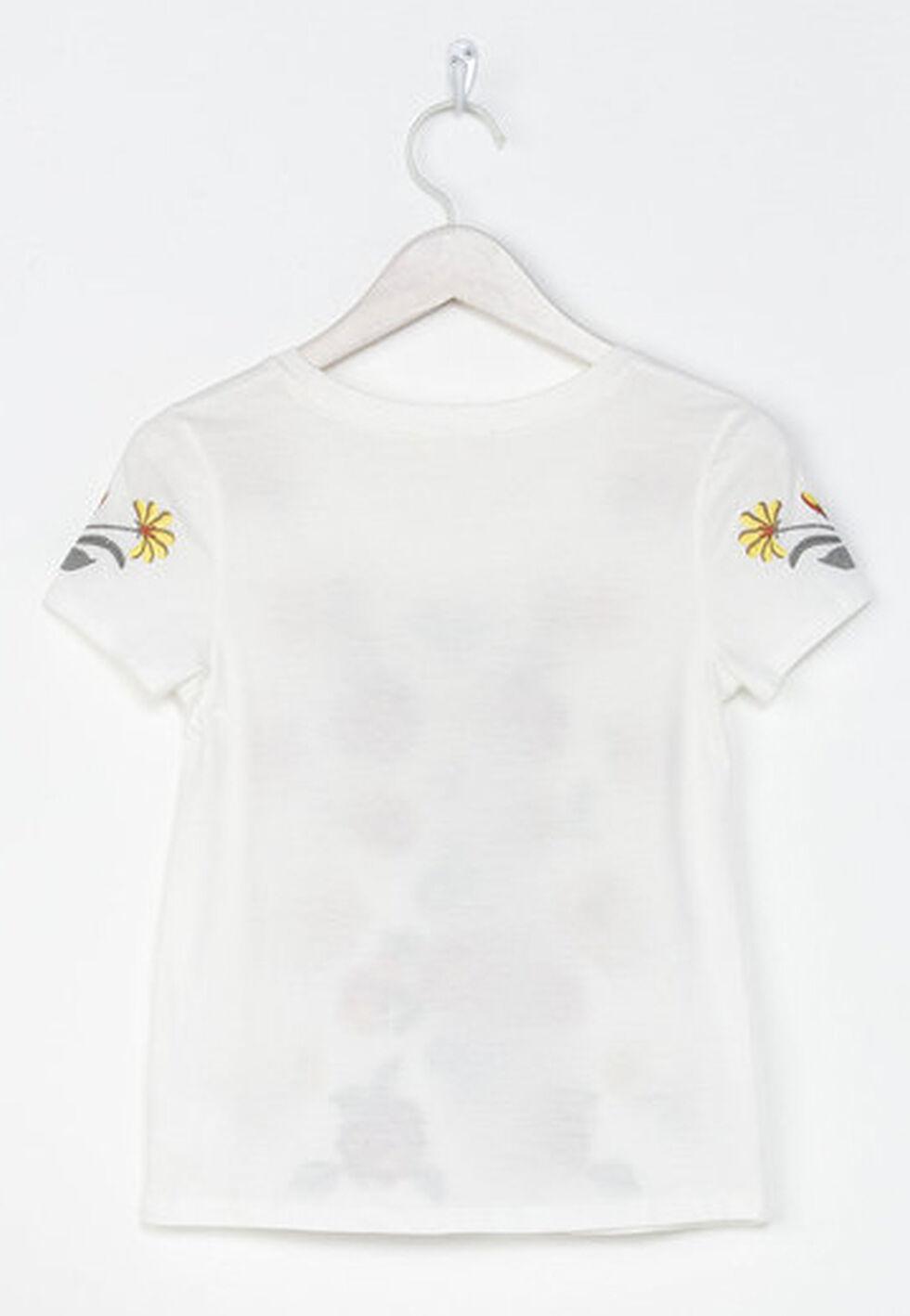 Miss Me Girls' Mystic Garden Top , White, hi-res