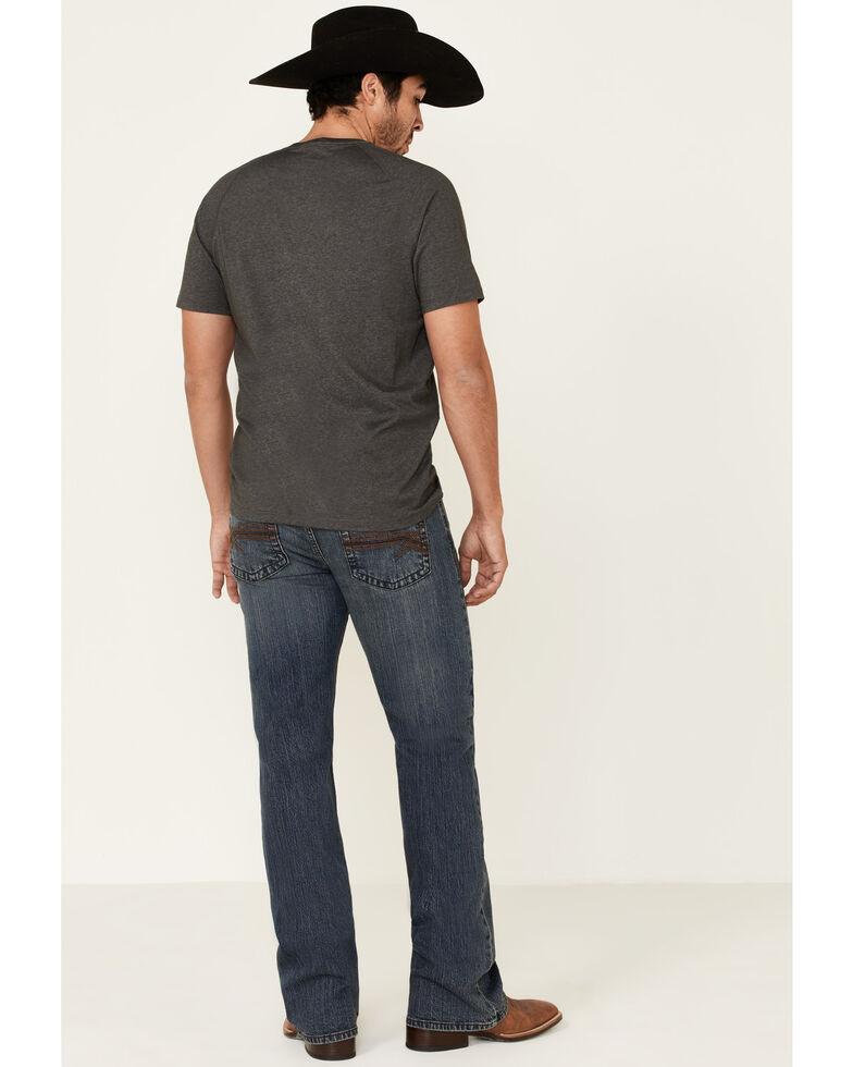 Cody James Core Men's Steel Dust Stretch Regular Bootcut Jeans , Blue, hi-res
