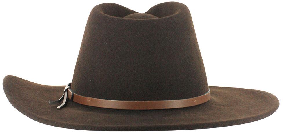 Cody James Men's Felt Hat Brown, Brown, hi-res
