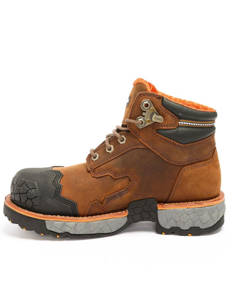 Hawx Men's Legion Work Boots - Composite Toe, Brown, hi-res