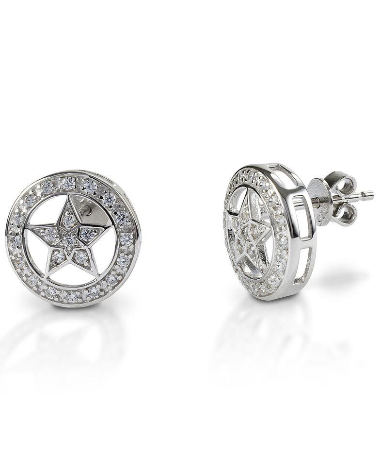 Kelly Herd Women's Small Star Earrings , Silver, hi-res
