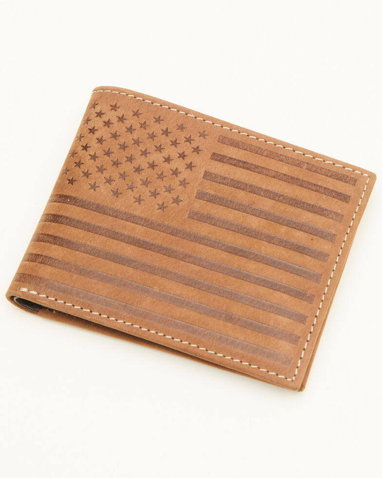 Cody James Men's Liberty Bifold Wallet, Brown, hi-res