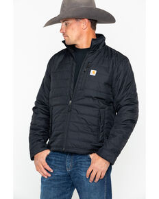 Carhartt Men's Gilliam Work Jacket , Black, hi-res