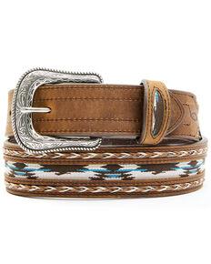 Cody James Men's Brown Multi-Color Concho Belt , Brown, hi-res