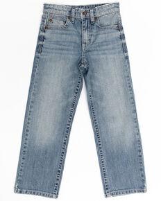 Cody James Boys' 4-8 Blue Shadow Stretch Slim Bootcut Jeans , Blue, hi-res
