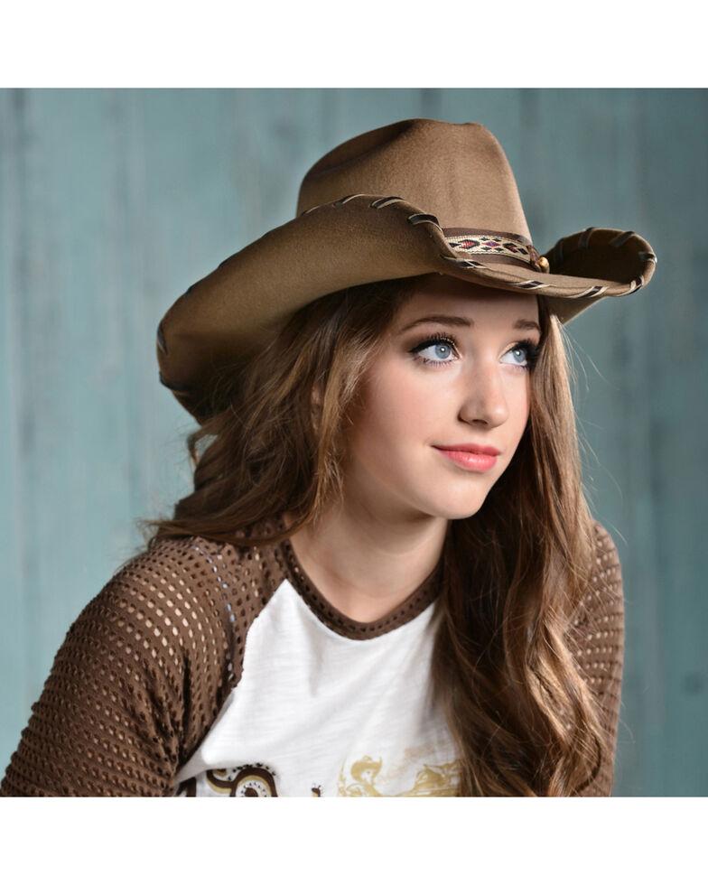 Bullhide Cheyenne Wool Cowgirl Hat, , hi-res