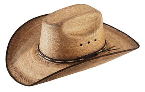 Jason Aldean Amarillo Sky Palm Leaf Cowboy Hat , Natural, hi-res